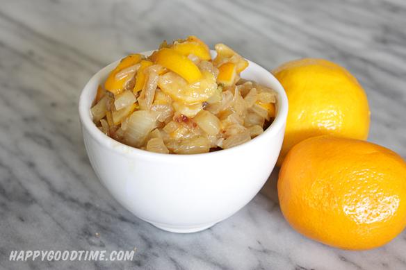 Meyer Lemon and Fennel Relish